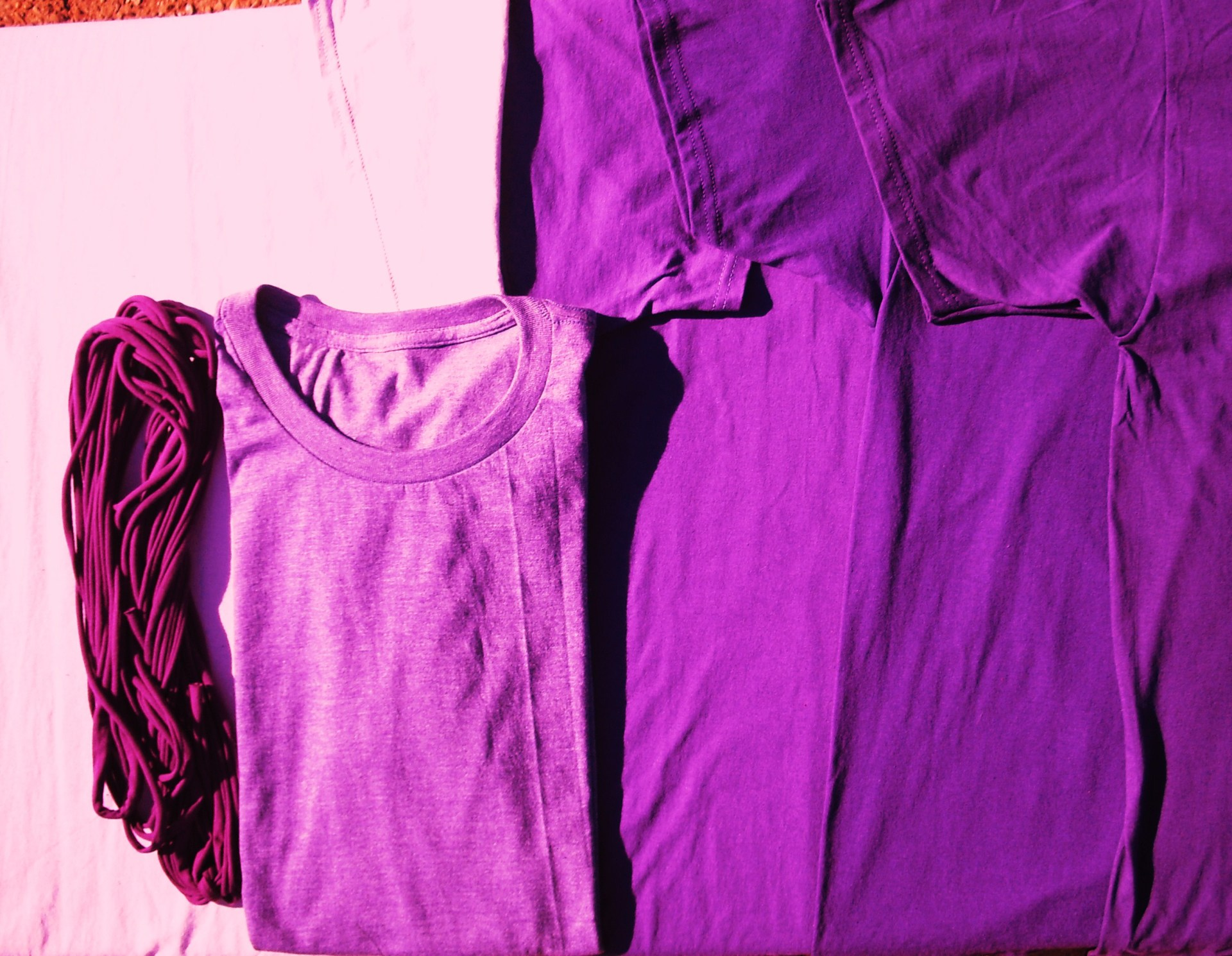 Winterberry T-Cords, Orchid, Purple Heather, Purple, Rich and Dark Purples